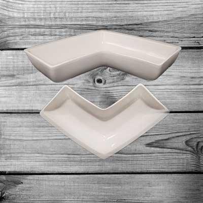 Antipastiera in ceramica combinabile vendita stock